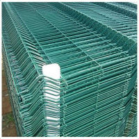 10-year factory anping curve pvc coated welded wire mesh fence/fencing p of anping for sale