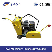 Asphalt construction machine road concrete cutter