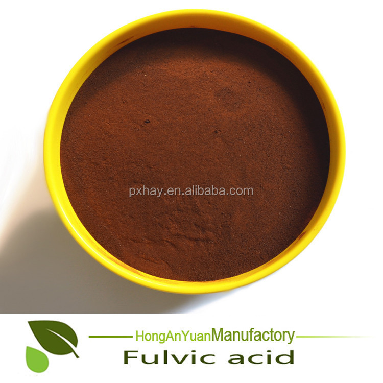 100% Water Soluble Fulvic Acid Biochemical Fertilizer For Plant Growth Regulator