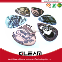 Various kinds of promotional popular used personalized guitar pick