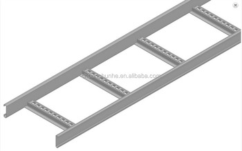 Steel Wire Mesh Cable Tray Perforated Solid Pre Galvanized Ladder Type Cable Tray