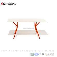 2017 new design office wooden table with MDF top (OZ-RT1023B)