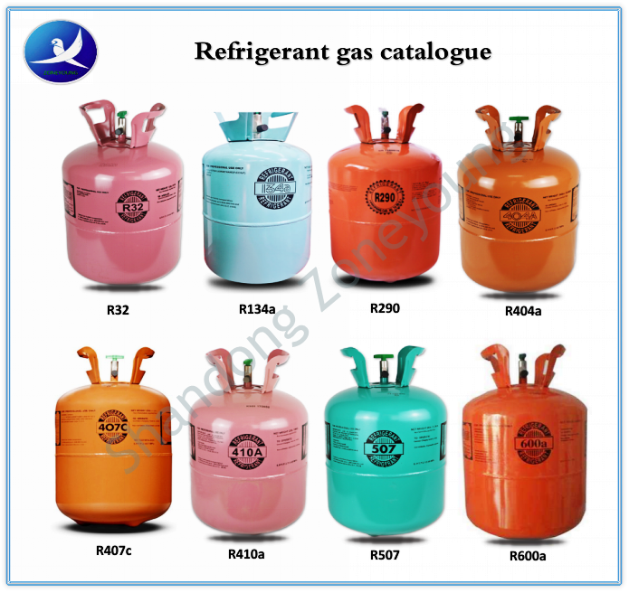 High quality purity R507 gas,refrigerant R507,CE certificate