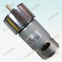 geared 9 volt dc motor for power tools