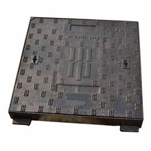 China EN124 F900 square Heavy Duty Cast Iron locking Manhole Cover and Frame