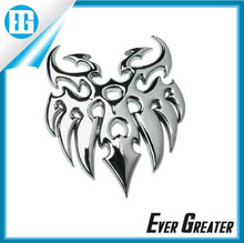 customized 3D CHROME EMBLEMS chrome badges, emblems, logos on cars, cameras, appliances