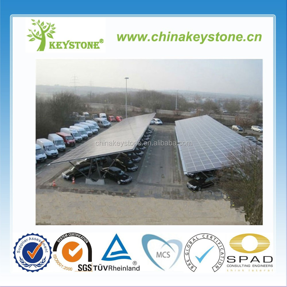 Favorable Wholesale lowest solar pv panel mounting carport components