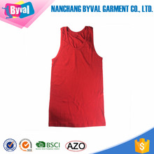 Wholesale Plain Blank Cotton Custom Logo 95% Cotton 5% Spandex Mens Stringer Gym Tank Tops
