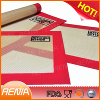 RENJIA food safe embossed sheets heart mat bbq mat