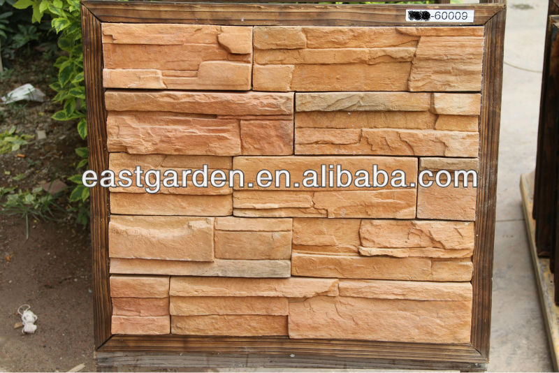 artificial culture stone ledge stone