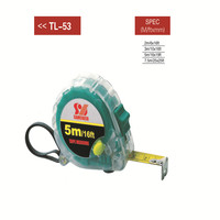 wholesale Plastic ABS tape measure 3m 5m 7.5m steel tape measure