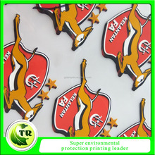 Hot promotional high quality heat transfer 3d silicone rubber heat press labels