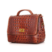 C002B China Genuine Leather Lady Hand Bag Manufacturer