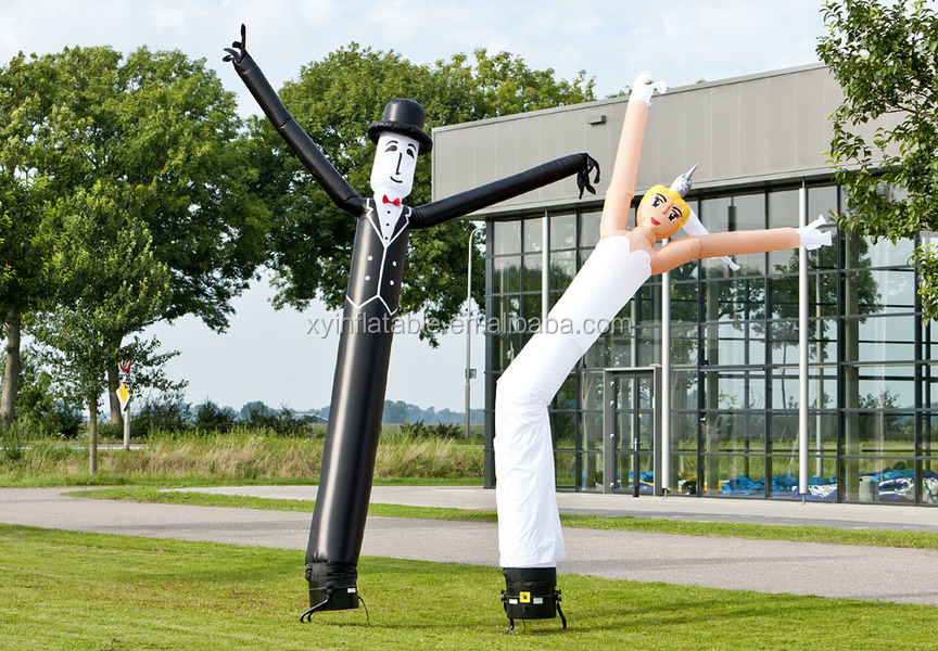 Newest design bride and groom air dancer