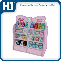 Cosmetics shop displays yes love cosmetics,Skin care products cardboard display stand ,cardboard cosmetics display