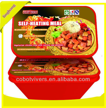 Curry Chicken Precooked Rice Instant Self Heating Rice