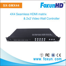 Foxun Seamless Switch Video Wall and 4x4 Seamless HDMI Matrix Switch