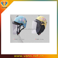Factory price cartoon motorcycle helmet superman motorcycle helmet D220A