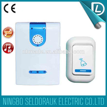 Rich experience in OEM voice good design decorative doorbell ringers