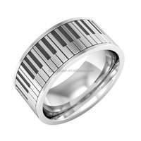 Wholesale stainless steel small piano ring