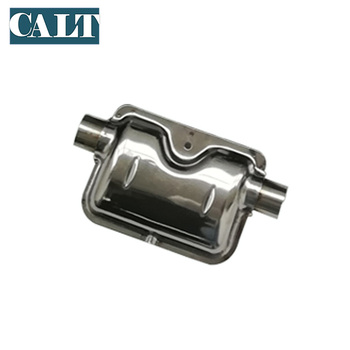 Truck Bus Boat Air Diesel Parking Heater Silencer Muffler Stainless Steel 304 Fitting Kit 24mm outlet