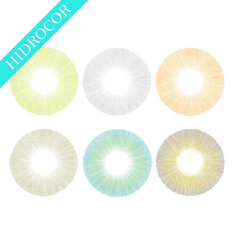 Cheap Wholesale 2017 Fancy Hidrocor Natural Looking model Soft Color Contact Lens
