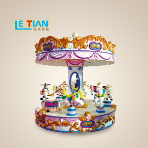 Kids Amusement Park Rides for Shopping Center Used Merry go Rounds China small Carousel for sale