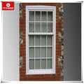 UPVC vertical sliding casement window with surface mounted Georgian Bars
