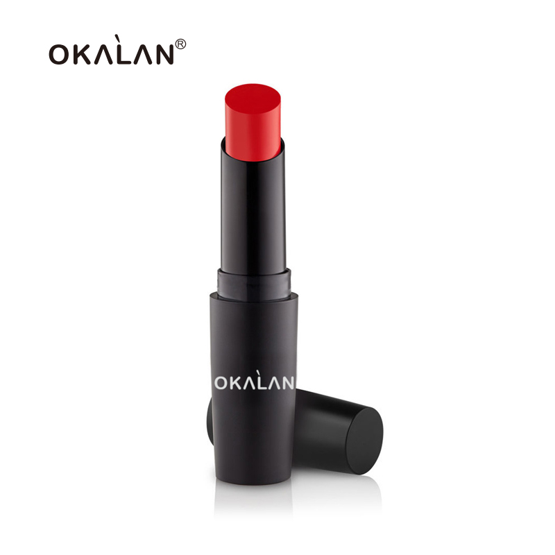 OKALAN Moisturizing Ever Beauty Lipstick Matte Long Lasting Lips Type Makeup Cosmetic Make Your Own Brand Matte Velvet Lipstick