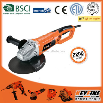 more powerful 230mm 2200w high performance motor rotary handle ANGLE GRINDER