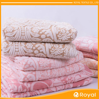 Very cozy China Cheap Plain embroidered blankets