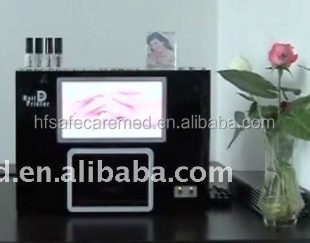 digital wax 3d nail art printer