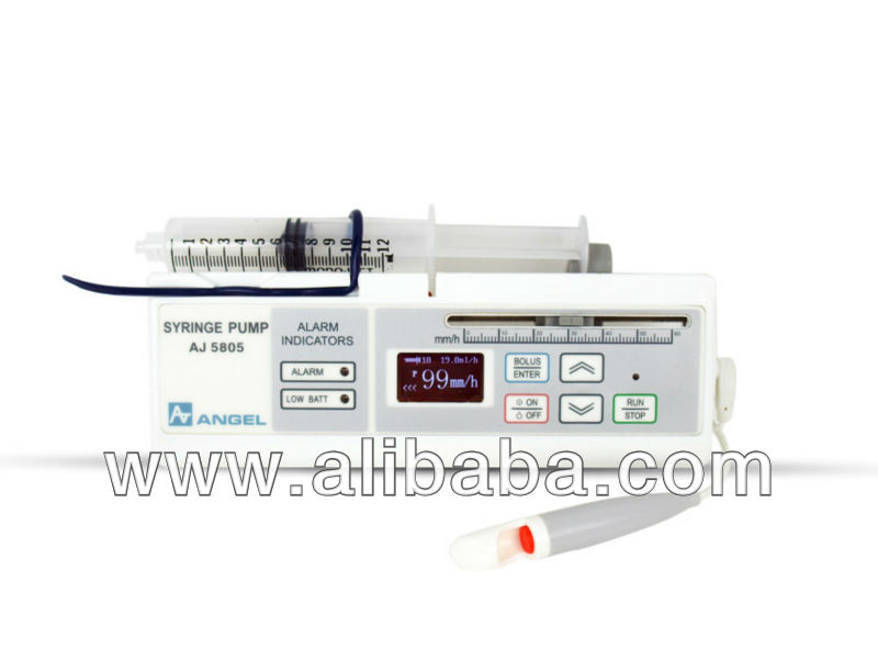 CE Approved PCA Portable Thalassemia Syringe Pump- Light weight, Compact, Easy to Carry, with large OLED display & PCA Bolus