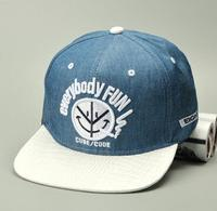 New arrival OEM custom wholesale high quality 3D embroidery flat brim cotton snapback hiphop cap / hats
