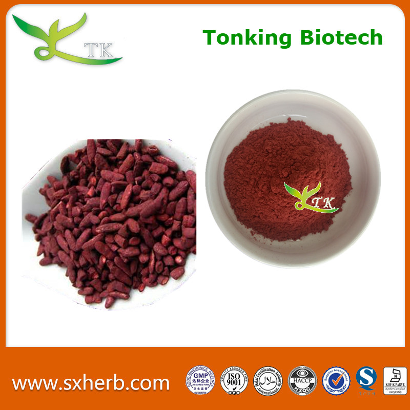 Top Quality red yeast Koji rice extract Lovastatin