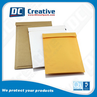 Plain canvas case paper bubble bags