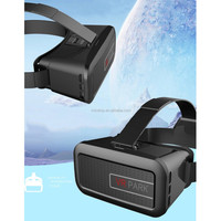 Wholesale black comfortable VR 3D glasses VR park 2 for 3.5-6 inch smartphone