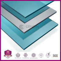 100% lexan material 10 years guarantee polycarbonate solid roofing sheets