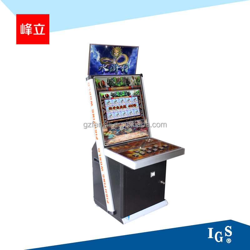 The newest Coin operated jackpot game machine for sale---Water Margin