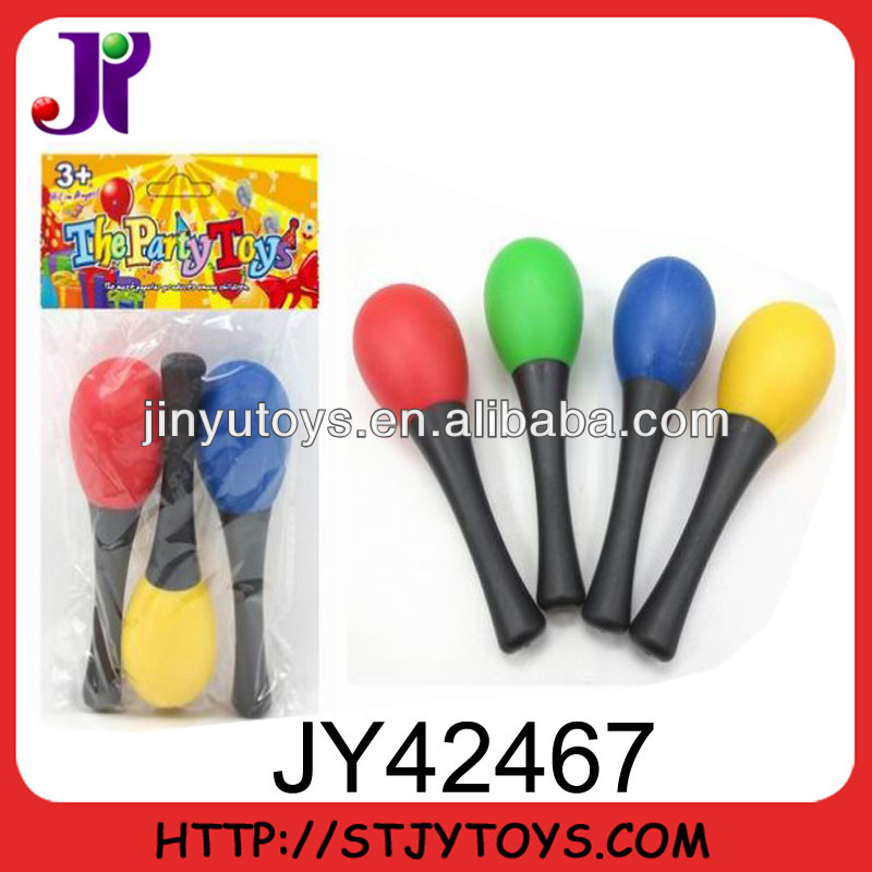 13CM mini colorful Samba maracas for kids
