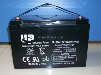 12v100ah Lead Acid Battery solar battery