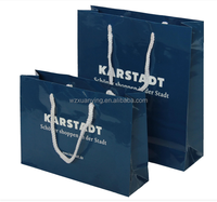 Wenzhou high quality luxury paper shopping bag