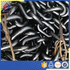 Marine Offshore Mooring Black Painted Galvanized CM490 CM690 / U2 U3 Stud link used anchor / cable chain