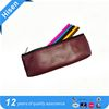 2017 Vintage Retro Roll PU Leather Make Up Cosmetic Pen Pencil Case Pouch Purse Bag for School
