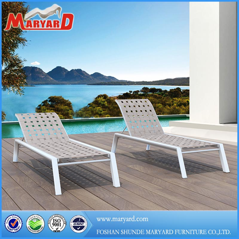 lounge chair + chaise lounge chair + outdoor patio furniture with aluminum frame