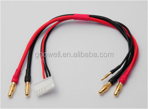 2MM 4MM Banana Plug with Silicone Wire Balance Charge