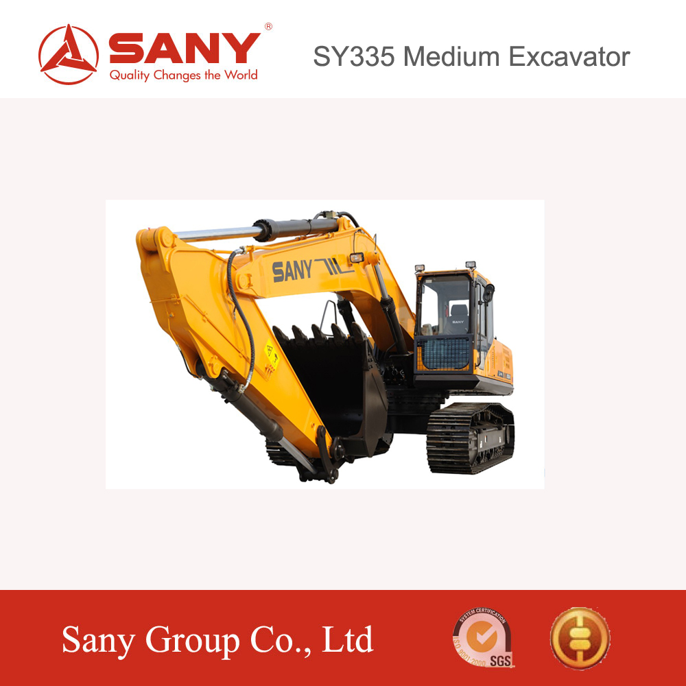 SANY 33.5 ton Excavator Well Digging Machine for Mining Construction