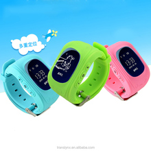 GPS Tracker SOS Children Smart Watch Sensor Mobile Watch Phone Call OLED Screen Anti-lost