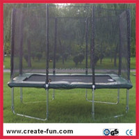 CreateFun Factory Competitive Pirce 8*12ft Trampoline with Enclosure For Children
