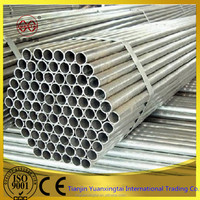 Hot sale on Alibaba!!! Tubo de acero galvanizado bs1387 galvanized round steel